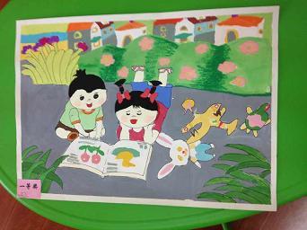 家风家训儿童画图片